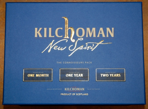 Kilchoman Connoisseurs Pack box