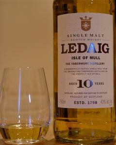 A pour of Ledaig 10