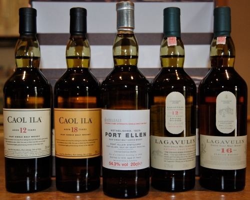 Port Ellen, Lagavulin and Caol Ila from the Classic Islay Collection