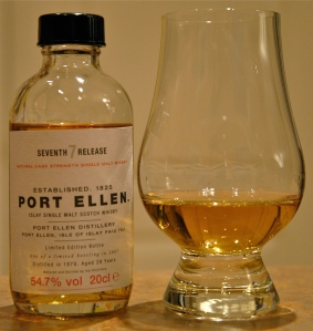 Port Ellen 7th (28 year) in sample bottle