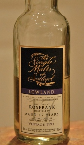Rosebank 1991, 17 yr. (Single Malts of Scotland)