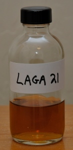 Lagavulin 21 sample