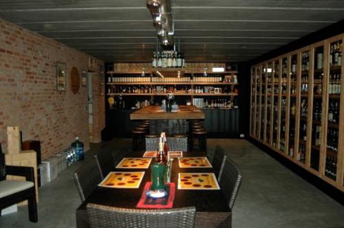 Luc's whisky cellar