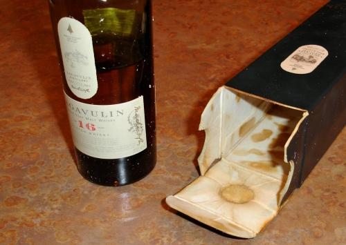 Oops! Bad cork.