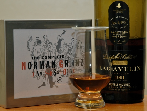 Norman Granz and Lagavulin DE