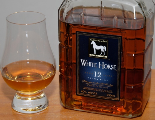 White Horse Extra Fine 12 years blend