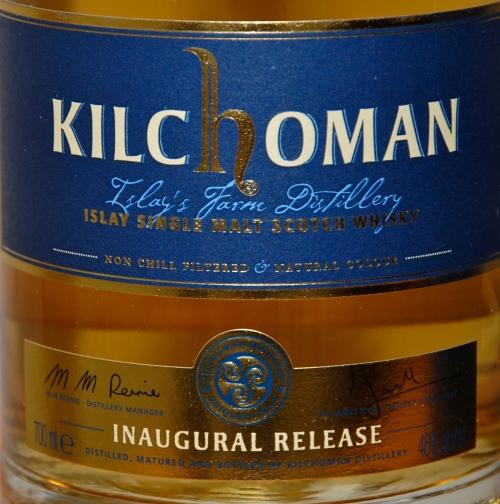 Kilchoman Label