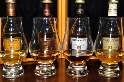 Four poured Glenmorangies