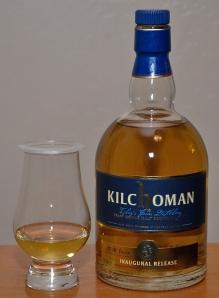 A pour of Kilchoman 3 yr