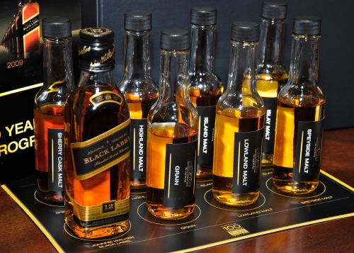 JW Black 200ml plus blending samples